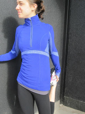 lululemon distance tech fleece pullover