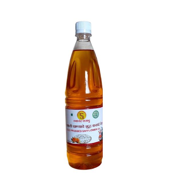 करडई तेल Safflower Seeds (500 ml)