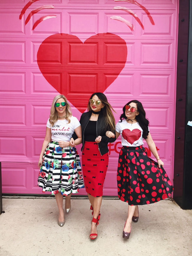 Valentine's Day Style - Heart Mural Chicago