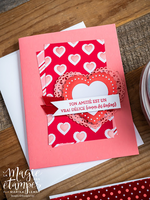 5 projets sublimes pour la St-Valentin et le reste de l'année! Collection Du fond du coeur Stampin' Up!