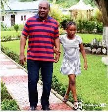 Farida and John Mahama