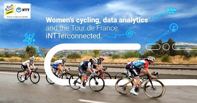 NTT Ltd. será el socio tecnológico oficial del Tour de Francia Femenino con Zwift
