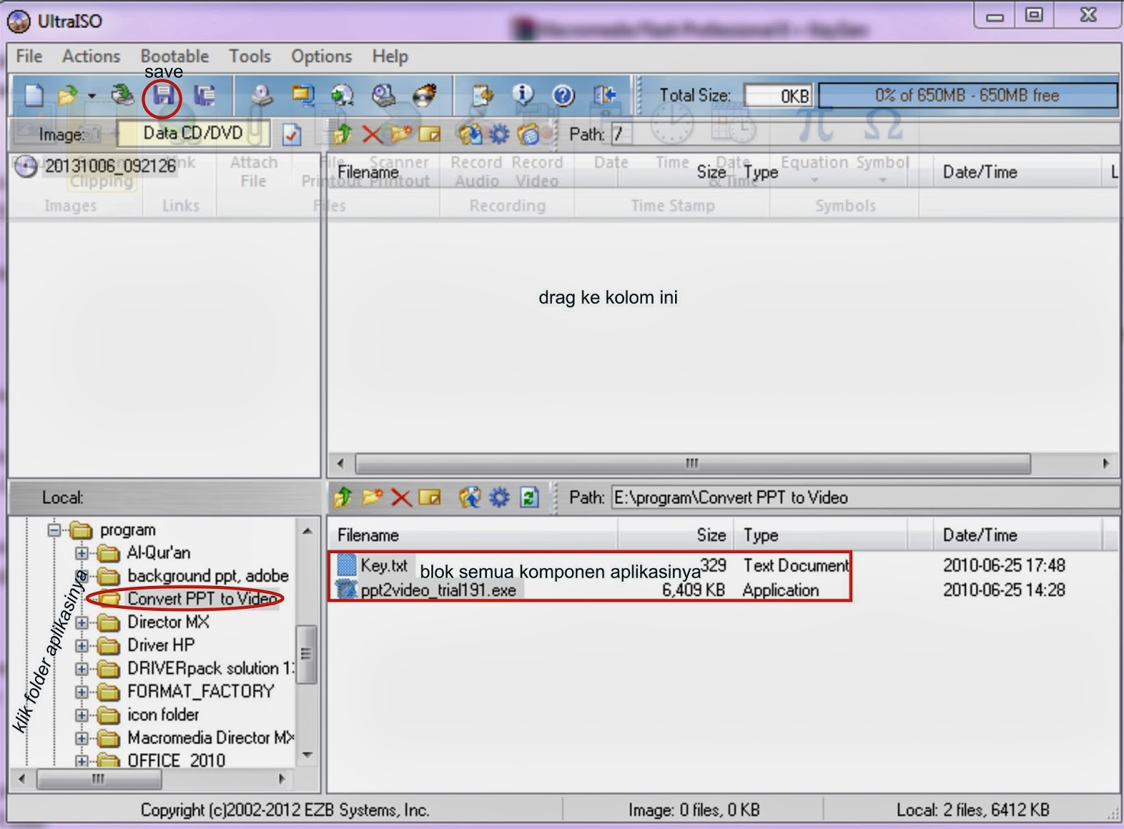 IRFA BLOG: Cara Membuat File ISO dengan menggunakan Ultra ISO dan ...