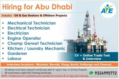 Onshore and Offshore in Abu Dhabi