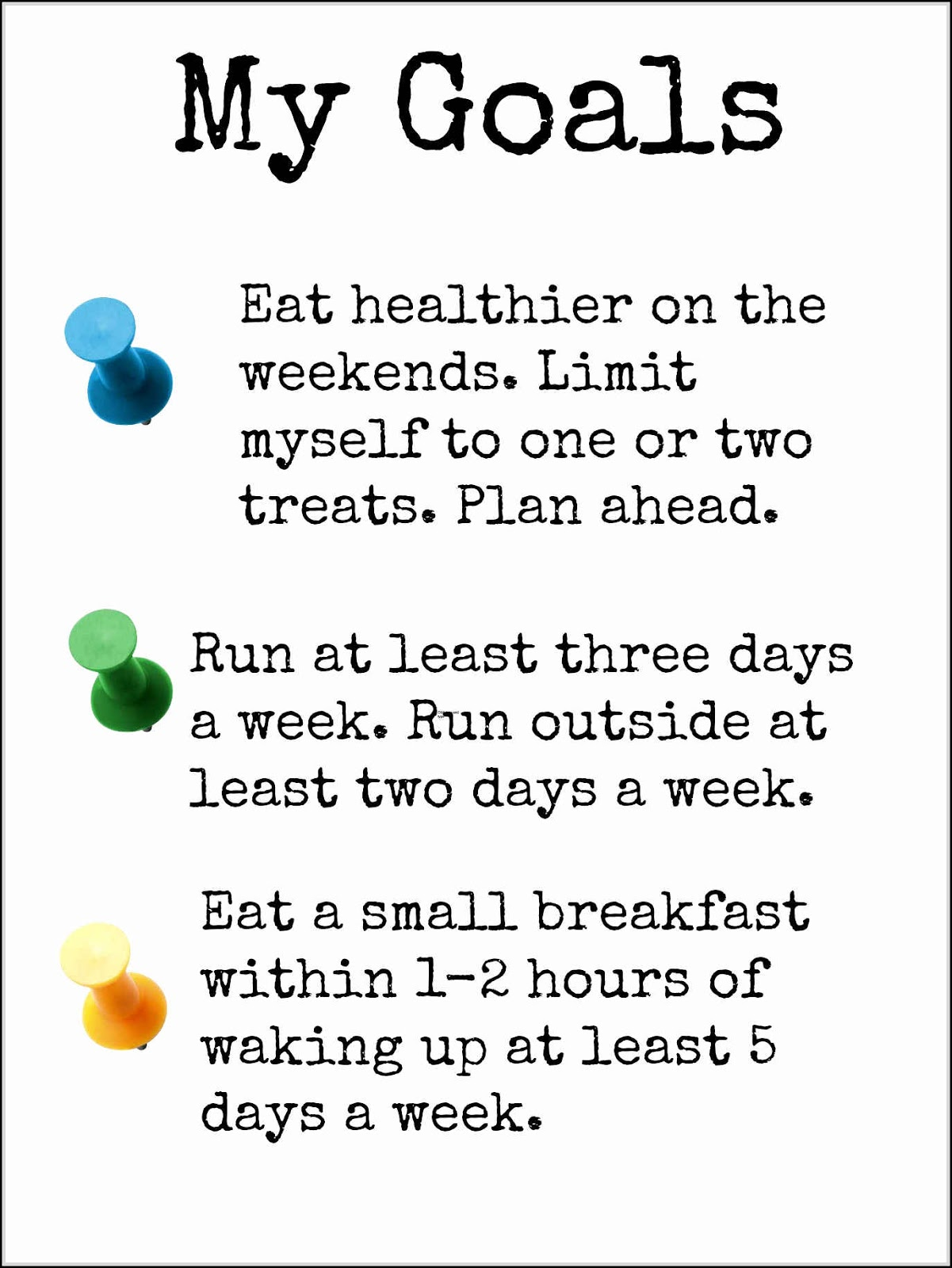 Lifestyle Goals Examples to Refer to and Show You the ...