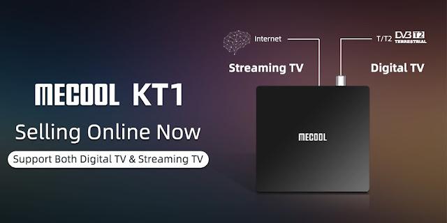 Mecool KT1 con sintonizador TDT HD