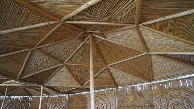 architettura-costruzione-canne di bambù