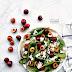 Insalata di ciliegie e spinaci
