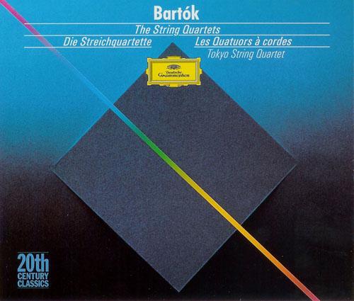 El Púbis de la Rosa: BARTÓK - The String Quartets [Tokyo String Quartet] DG  / 3CD / 2004