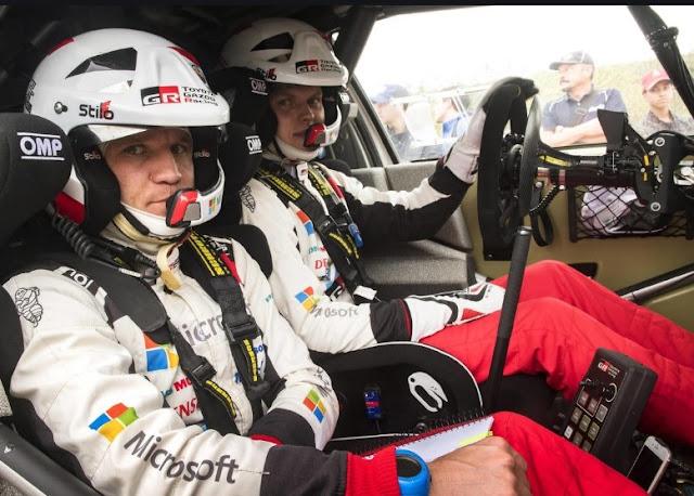Campione del mondo a rally Otty Tanak e salvo miracolosamente a Monte Carlo dopo l'incidente a 12 chilometri all'ora