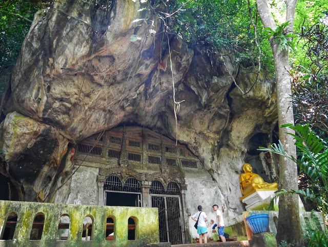 the upper cave at Pak Ou, Luang Prabang