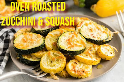 Oven Roasted Zucchini and Squash
