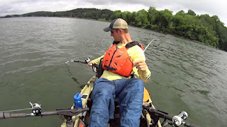 Rod Holder Mounting Options for Kayak Catfishing