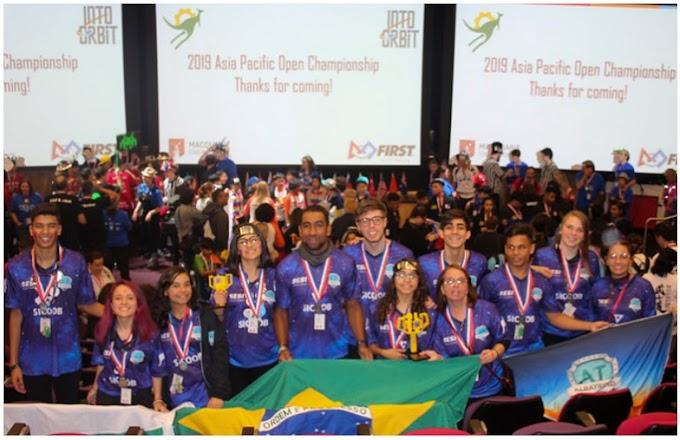 Brasilia: Alunos do DF ganham prêmios em torneios internacionais de robótica