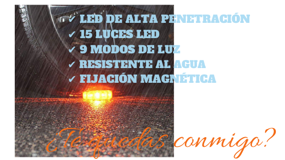 Yizhet LED Carretera Luz de Emergencia