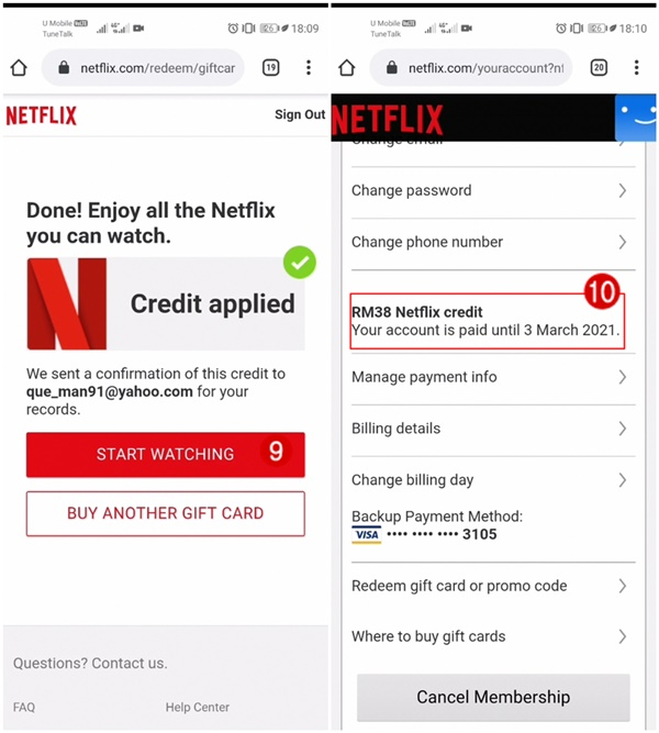 cara langgan netflix tanpa kredit kad