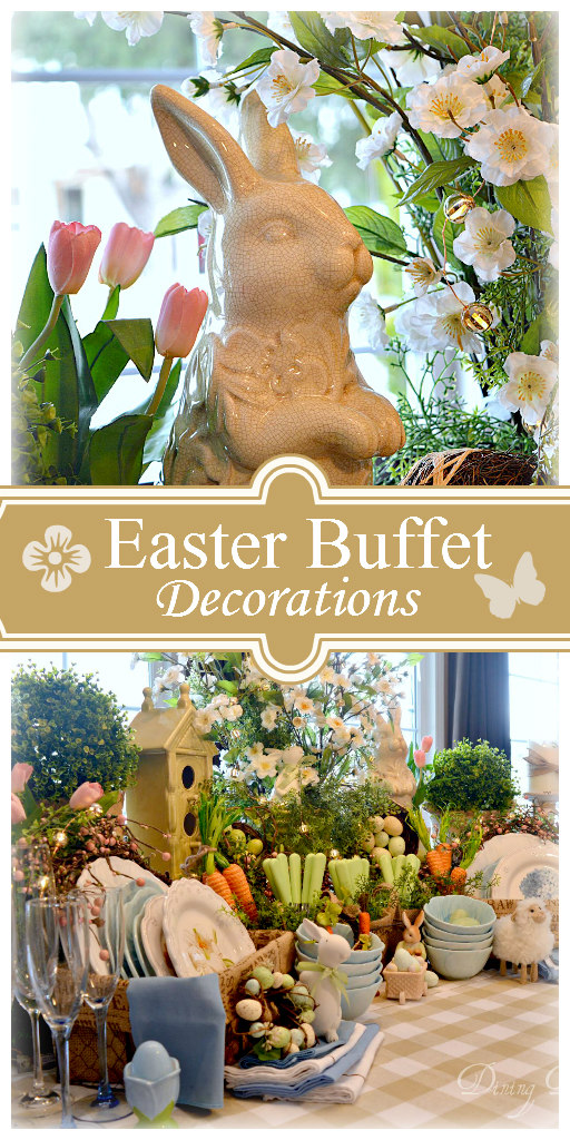 Dining delight easter buffet decor