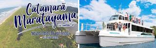 Catamarã fará passeios a Trincheiras/Baía dos Golfinhos, Ponta Norte e Marujá