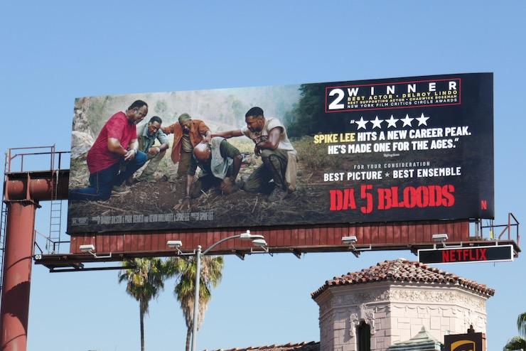 Da 5 Bloods movie FYC billboard
