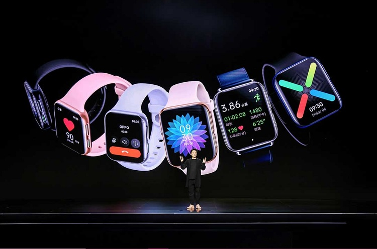 OPPO Watch with Built-in Cellular Launches, Looks a Lot Like the Apple Watch