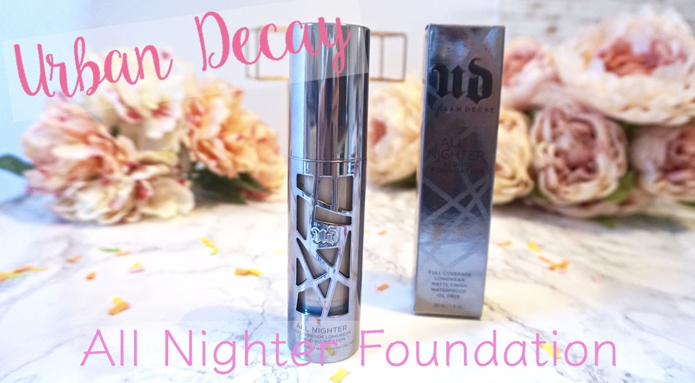 Urban Decay all nighter foundation pinterest