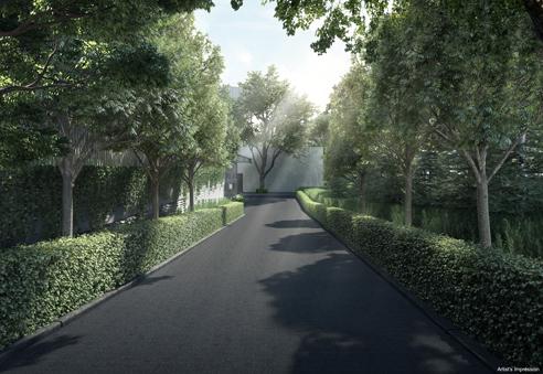 Forett at Bukit Timah - Driveway