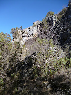 Abrigo en la roca. Arroyo Valpinoso