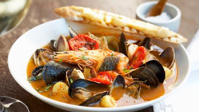 Alimentación saludable pescados mariscos