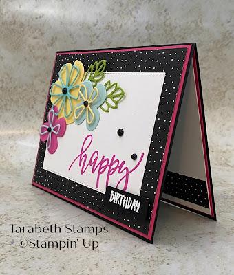 Stampin' Up Pretty Perennial Happy Birthday 2