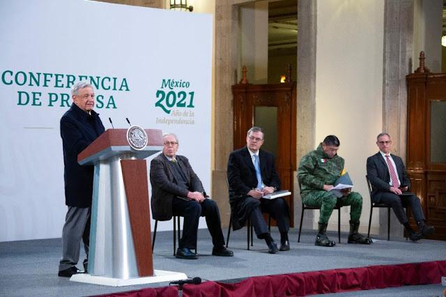 México se pronunciará ante la ONU por equidad en suministro de vacunas: AMLO
