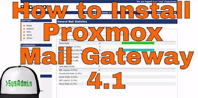 Proxmox Mail Gateway 4.1