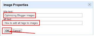optimalisasi gambar pada artikel postingan blog