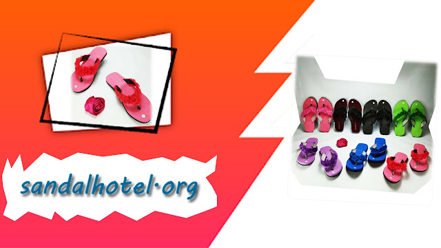 Sandal lisban bulu GSJ Pusat Sandal SPON Termurah
