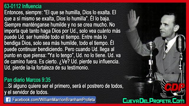 El secreto de la Humildad - William Branham en Español