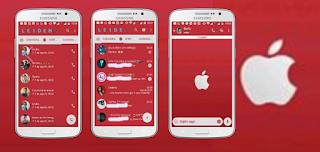 Red Apple Theme For YOWhatsApp & Fouad WhatsApp