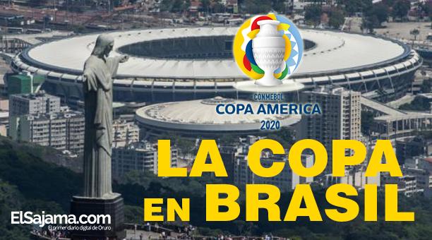 Copa America nuevamente en Brasil