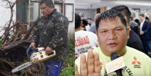 Trainer ni Manny Pacquiao, hinangaan dahil hindi iniwan lahat ng kanyang kababayan sa gitna ng Bagyong Rolly