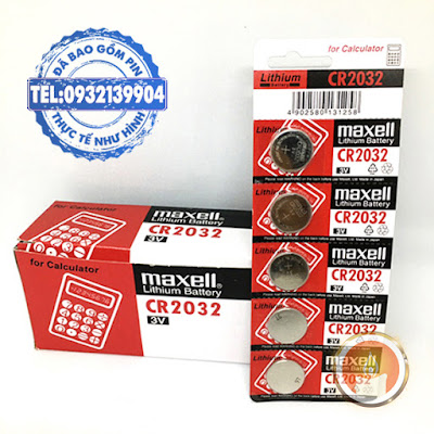 Pin CR2032 Maxell