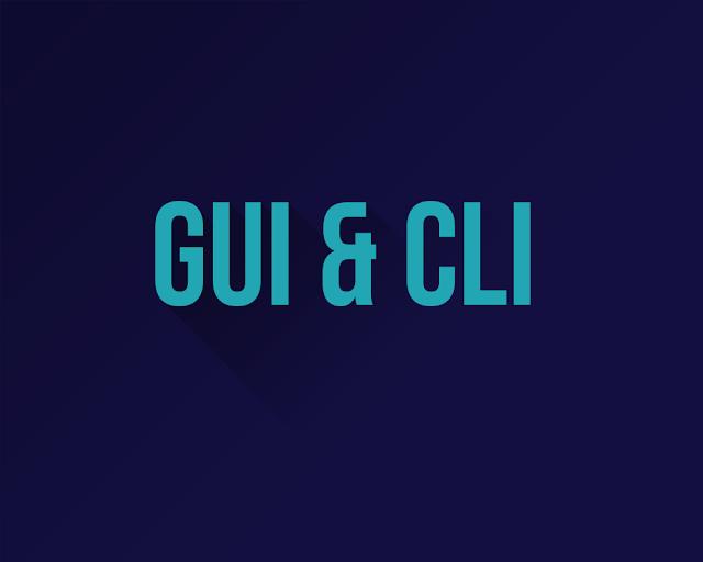 GUI CLI