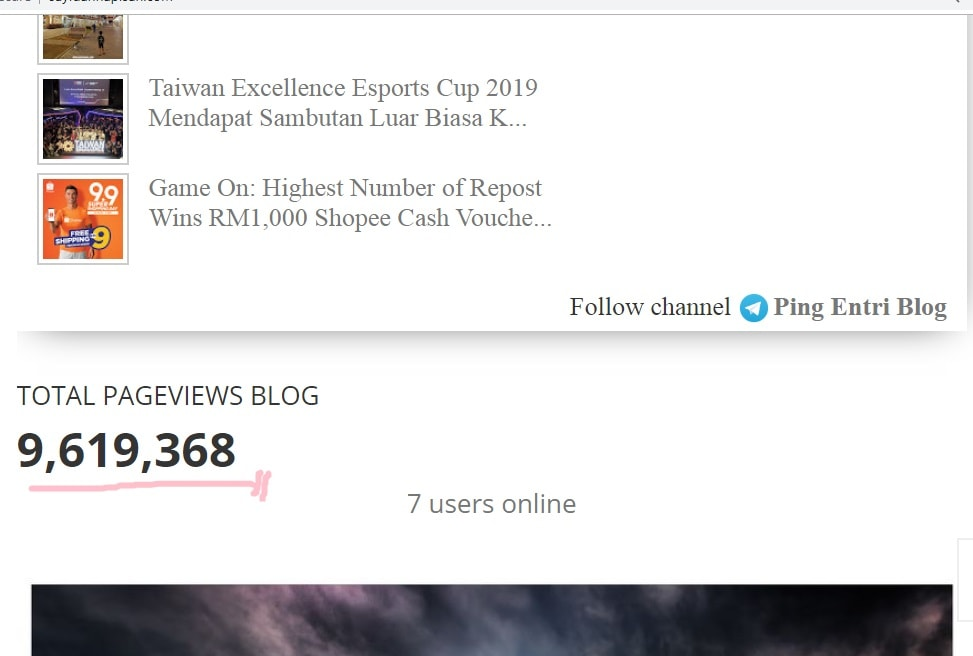 road to 10 juta pageviews blog