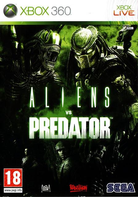 Aliens vs. Predator - Xbox 360 - Portada