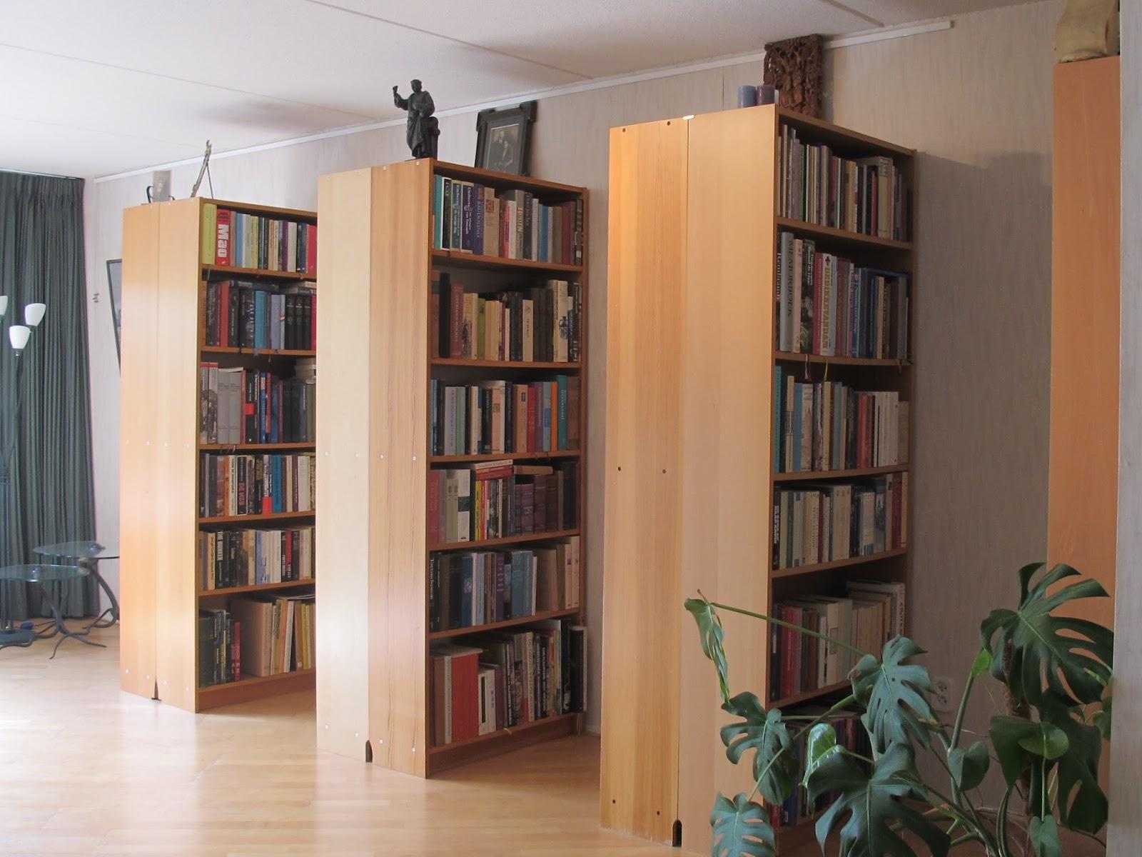 P e r k a m e n t u s: Over mijn bibliotheek, vijf jaar later...