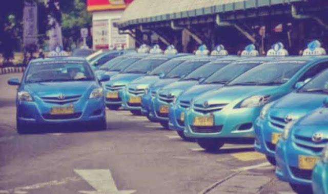 Taxi di Yogyakarta