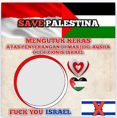 Twibbon Palestina 2021