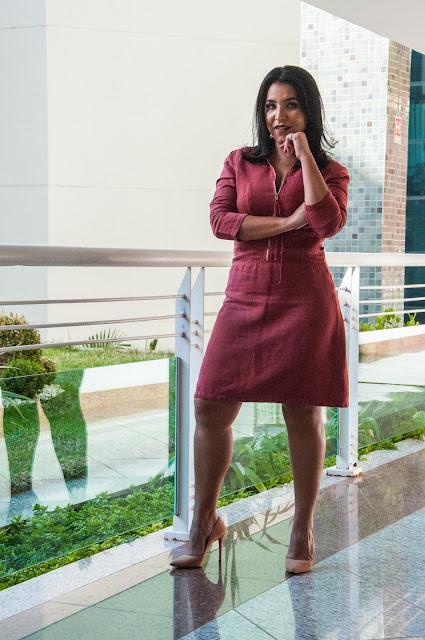 Como usar o Vestido Chemise no trabalho e na vida