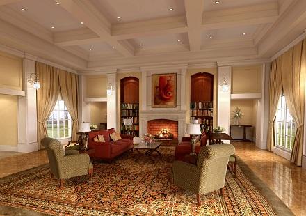 Como Decorar Un Salon Con Estilo Clasico Colonial Y Minimalista - Decoracion-salon-clasico