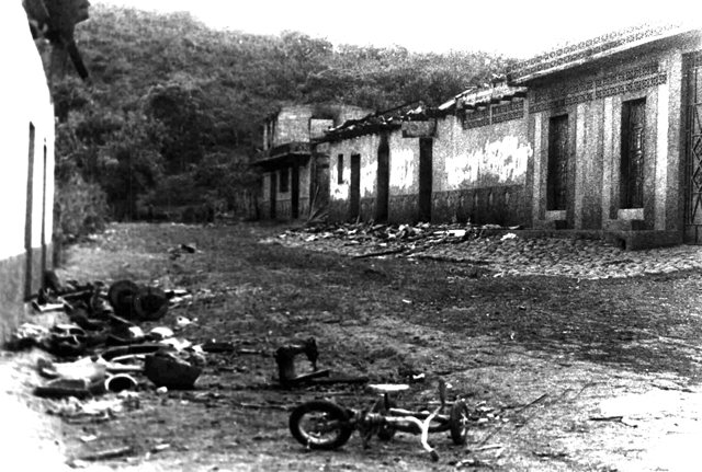 el mozote Except for a house with its walls riddled with holes made by bursts of machine gun fire, nobody would say that the quiet salvadoran village of el mozote was the scene of one of the worst massacres in.