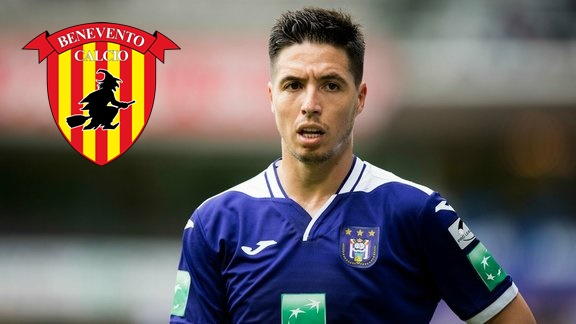 Samir Nasri Menuju Benevento