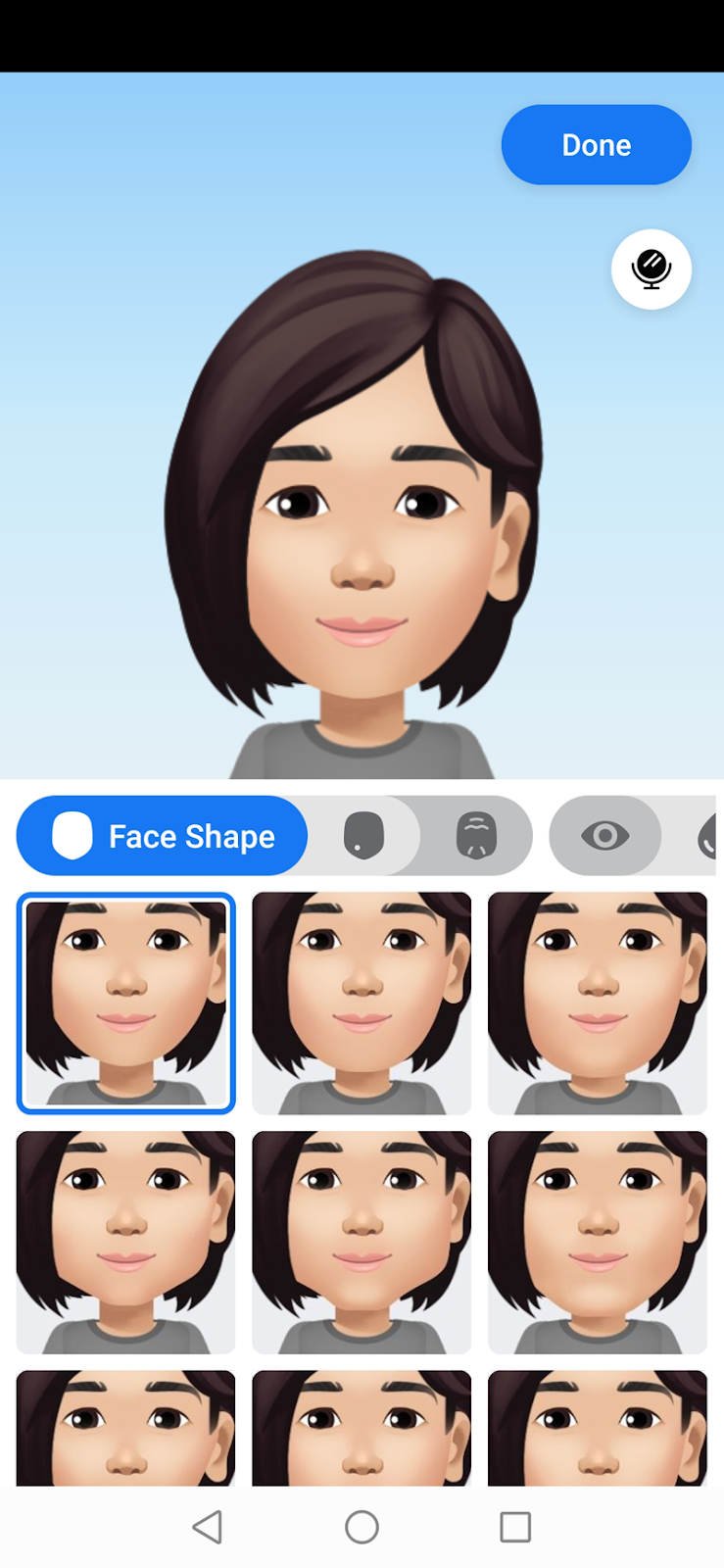 You can tweak your avatar's appearance to make it similar to yours