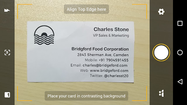 Screenshot Card Scanner